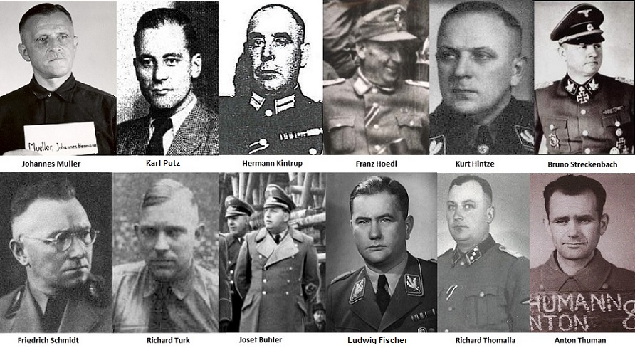 The majdanek remembrance project lublin district s s men for Frank hering